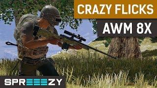 Crazy AWM FLICK SHOTS
