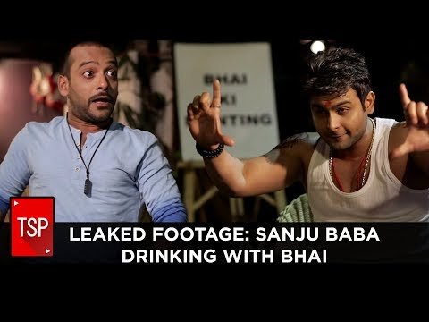 Leaked Footage: Sanju Baba Drinking With...