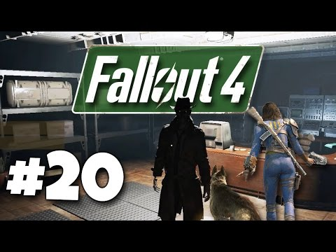 Fallout 4 Let's Play Ep. 20 - Detective Nick Valentine - Gameplay Walkthrough