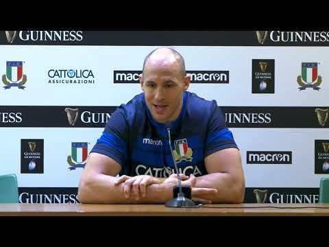 Italia VS Galles - Conferenza pre-partita del capitano Sergio Parisse