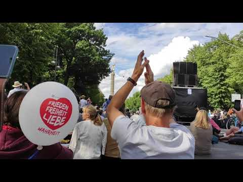 Peace Protest, Berlin, Aug 29, 2020. See Yourself.