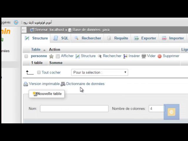 Java : JDBC 2 : Établir la connexion avec la base de données