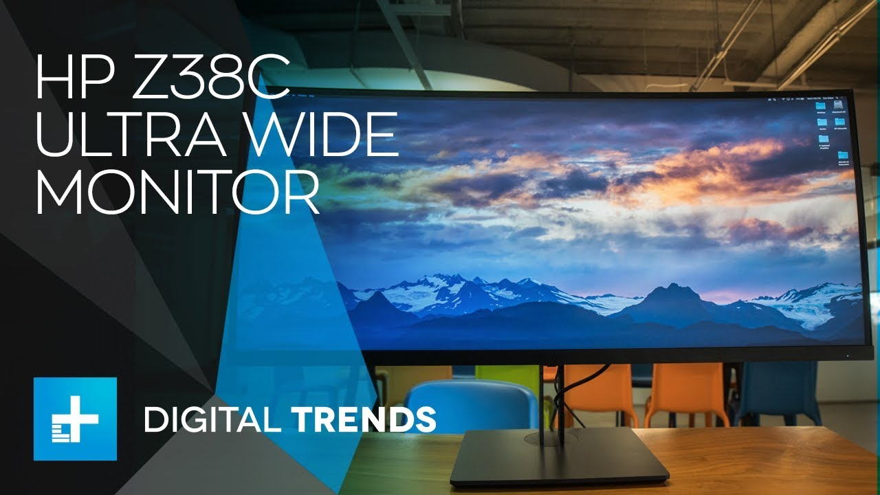 HP Z38c Ultra Wide Monitor – Hands On Review