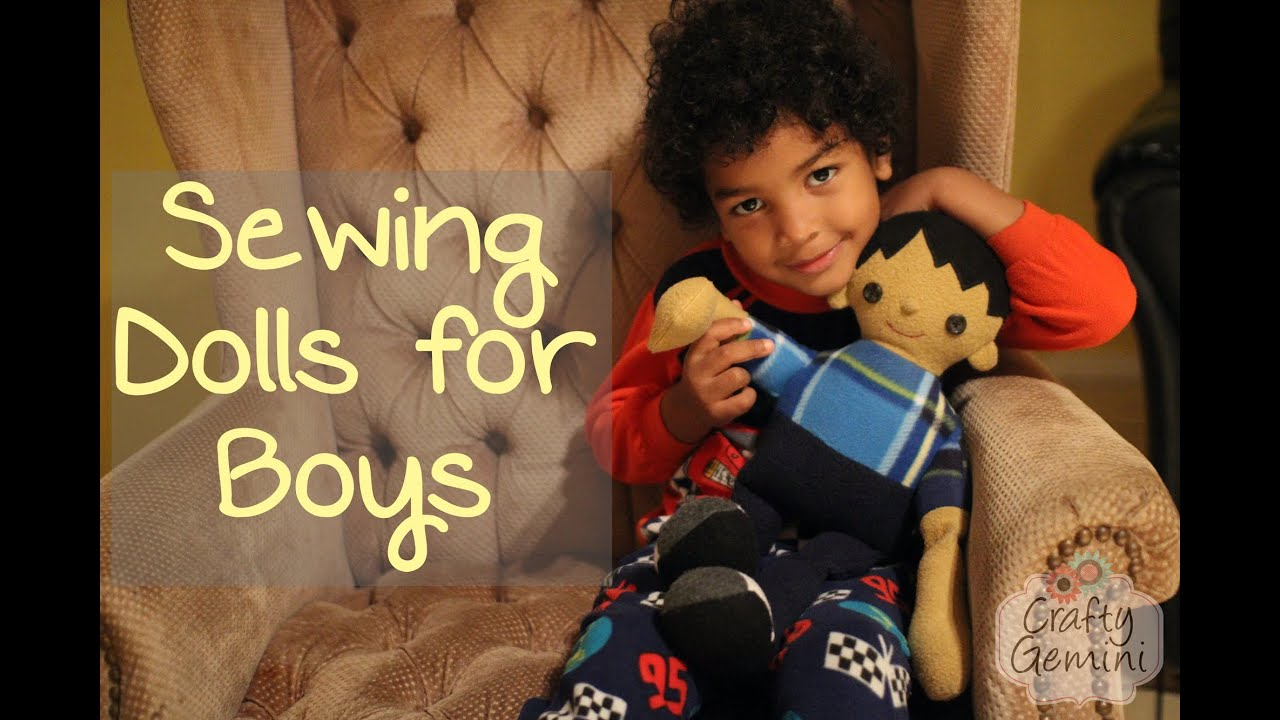 Sewing dolls for boys pattern review youtube jeuxipadfo Choice Image