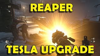 Call of Duty WW2 Zombies - REAPER Tesla Gun Upgrade / Variant Guide