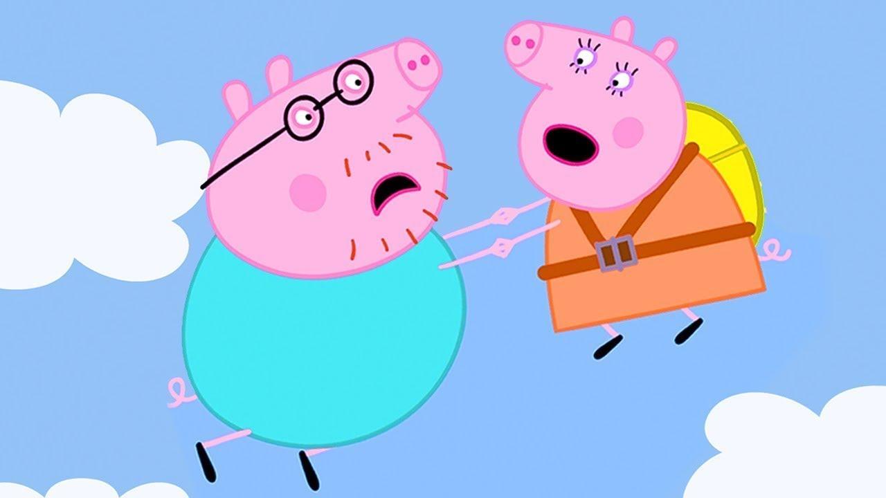 Peppa Pig Italiano - Lancio Col Paracadute - Collezione Italiano - Cartoni Animati
