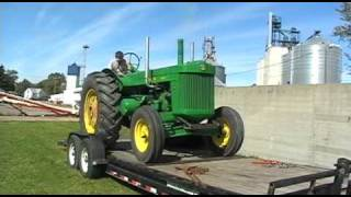 john deere R pony start 2 cylinder diesel cold start dual stacks