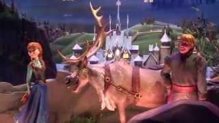 Frozen Enchanted Window at Disneyland