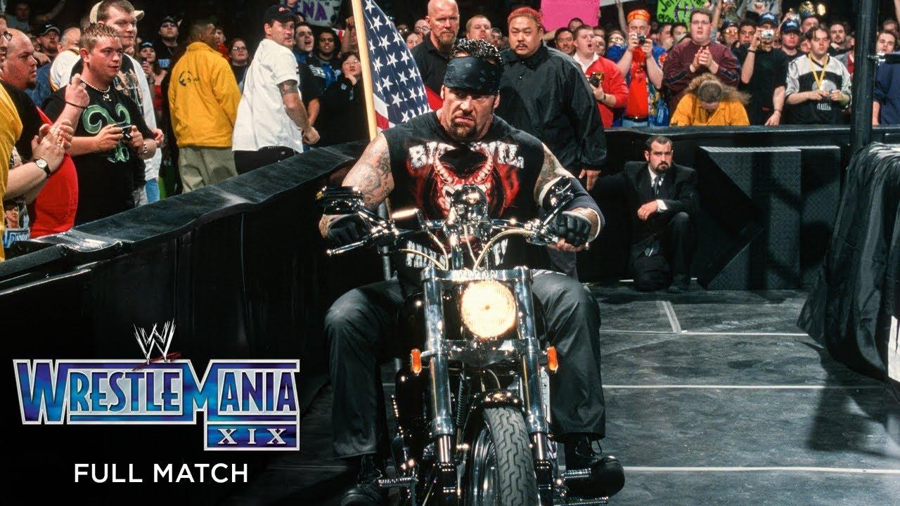 Download FULL MATCH - The Undertaker vs. Big Show & A-Train – Handicap Match: WrestleMania XIX