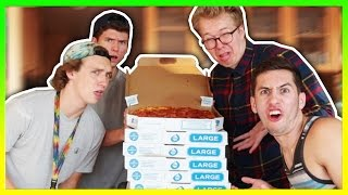 100 LAYERS OF PEPPERONI PIZZA!!!