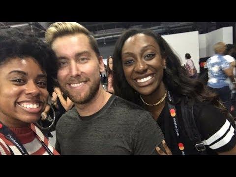 I MET LANCE BASS!!!  |  NYCWFF 2017
