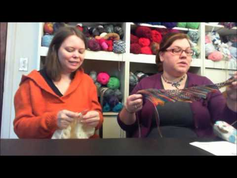 Intertwined Stitches Episode 18: It's not a mistake, it's a design feature!