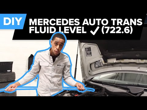 How to Check Mercedes Automatic Transmission Fluid Level (722.6) - DIY Friendly
