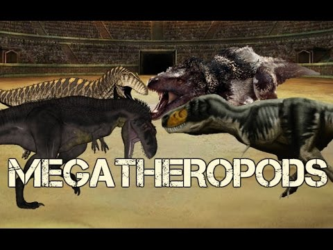 Paleontology News: All Known Megatheropods