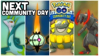 Next Community Days in Pokemon GO | We are running out of Pokemon...
