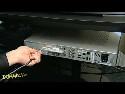 How to Connect an Antenna or Cable to Your HDTV For Dummies