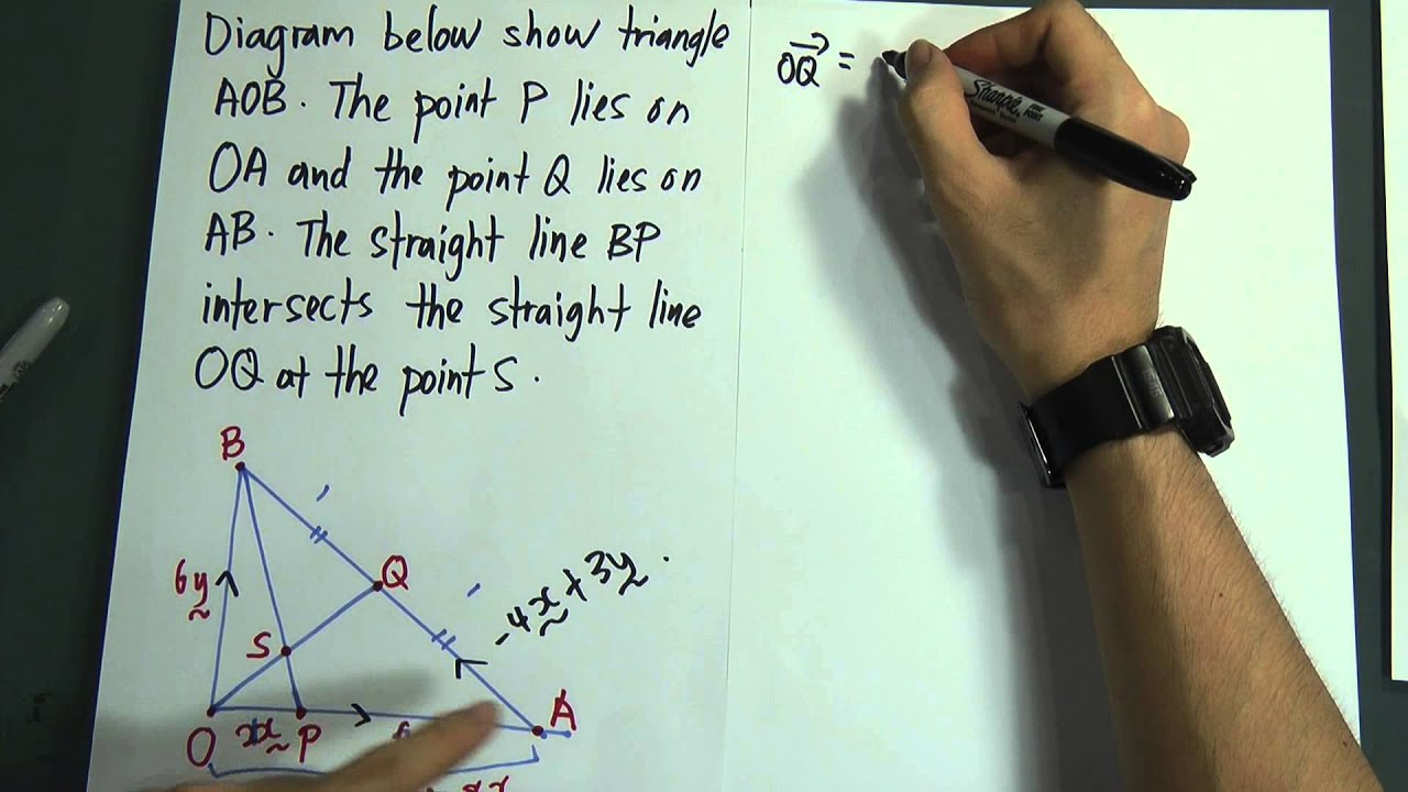 SPM - Form 5 - Add Maths - Vector (Paper 2) - YouTube