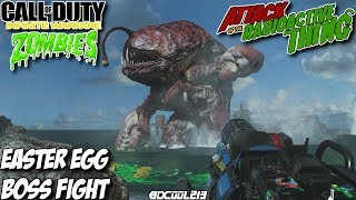 Call of Duty Infinite Warfare Zombies - Attack of the Radioactive Thing Gameplay Easter Egg Boss