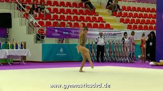 Gambar cover Elizaveta Mihailova (RUS) - Junior 2003 06 - Istanbul Rhythmic Cup 2018