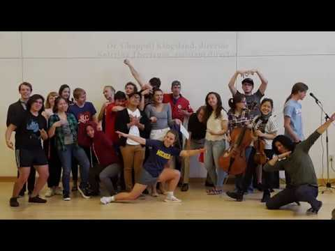 Scenes from Hamilton - a class project at the Lamont School of Music