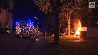 Delmenhorst: Fünf Feuer in einer Nacht – Polizei sucht Brandstifter