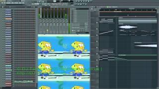 SpongeBob SquarePants - Ripped Pants (DJ Terrum Bootleg Remix)