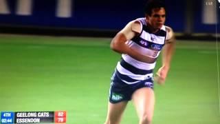 Steven Motlop kicks an Unbelievable Goal Round 15 2014