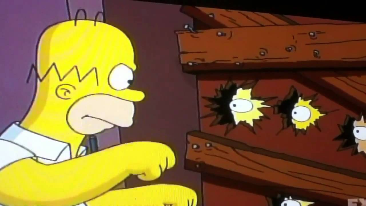 The Simpsons Movie Attack In The House Youtube