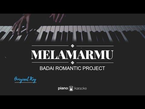 Melamarmu (MALE KEY) Badai Romantic Project (Karaoke Piano Cover)