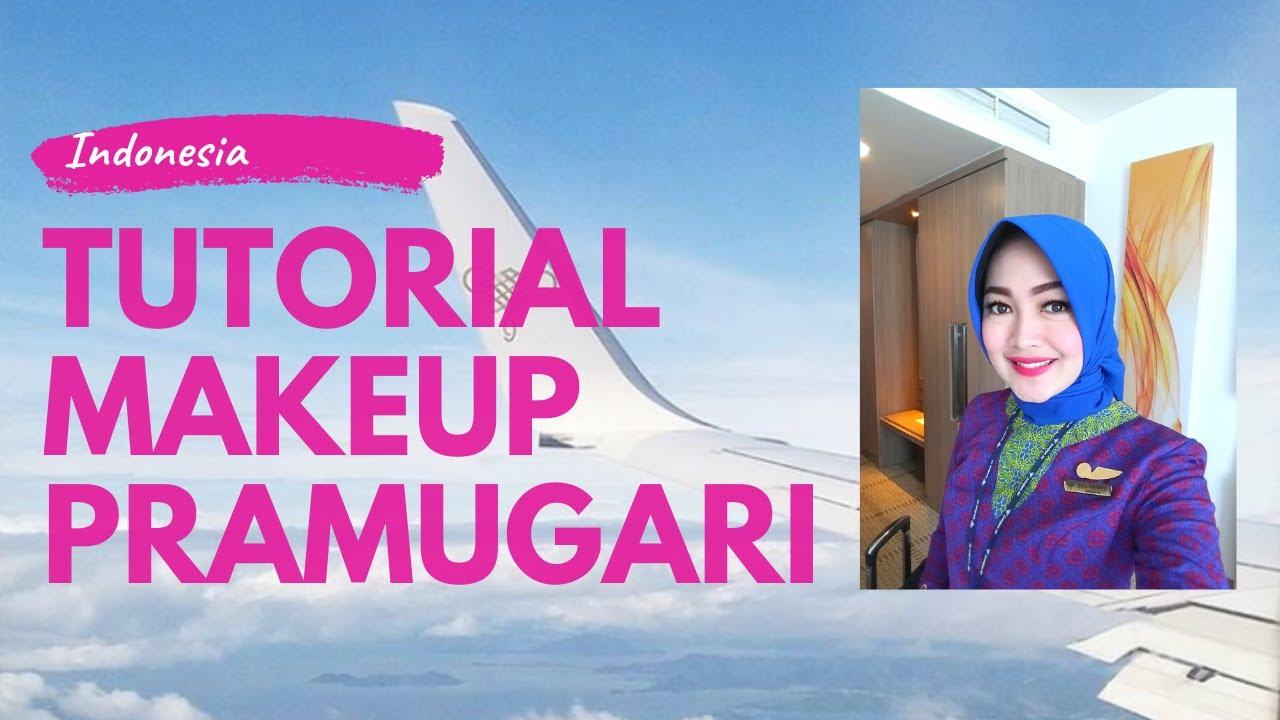 Sriwijaya Air Tutorial Makeup Pramugari Simple Tanpa Foundation Youtube