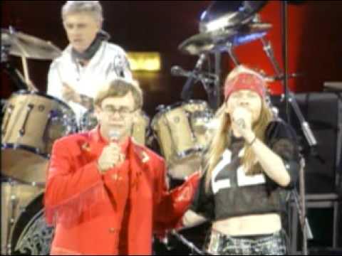 Bohemian Rhapsody (Elton John – Queen – Slash – Axl Rose)