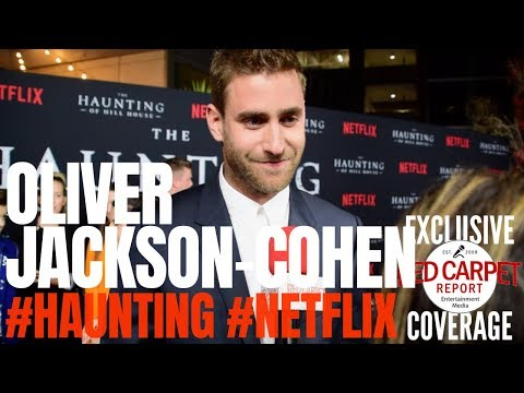 Oliver JacksonCohen  ed at Netflix's The Haunting of Hill House S1 Premiere Event