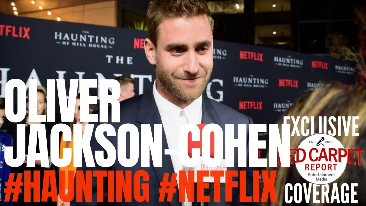 Oliver Jackson Cohen Interviewed At Netflix S The Haunting Of Hill House S1 Premiere Event Youtube