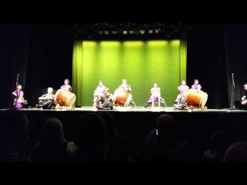 Taiko-shu Shoko at Japan Week in Helsinki/Savoy Theater 22.10.2015 (part 3 of 3)
