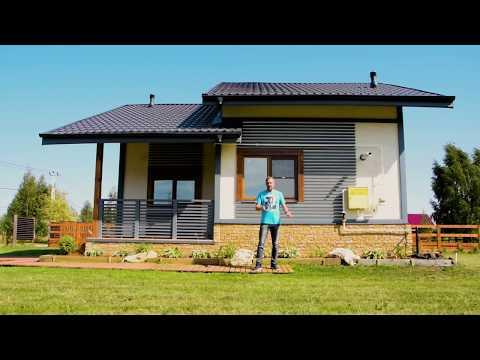 обзор современного дачного дома