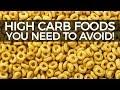 Hi Carb Foods - STOP EATING  THIS!
