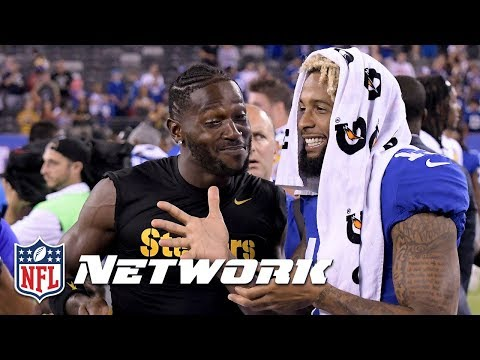 Is Odell Beckham Worth More Than Antonio Brown? | NFL Total Access