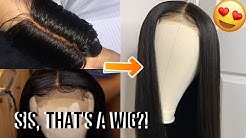 How to make a Closure Wig for Beginners (Full Tutorial)