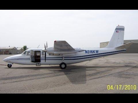 Aero Commander 680FL Courser Commander (North American Rockwell Corporation) Chino Airport 2010