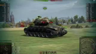 """Танк Т-54 """"таракан"""", еще может. Учусь играть на легенде."""