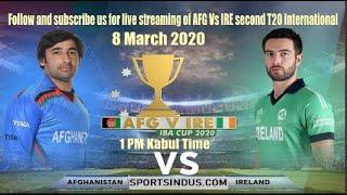 Afghanistan vs Ireland cricket 2020 HD