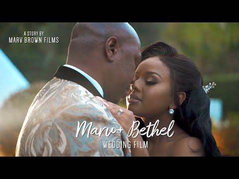 Marv & Bethel's Magical Wedding In Athens | #TheNewBrownsInTown | Marv Brown Films