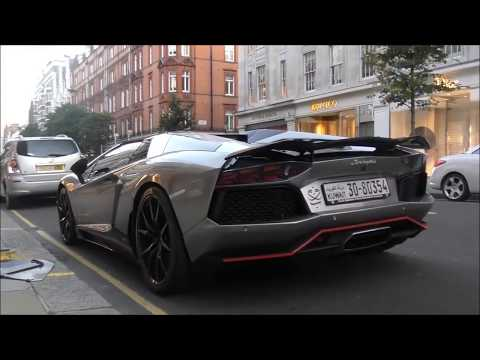 The Great Arab Supercar Invasion in London, Summer 2016!