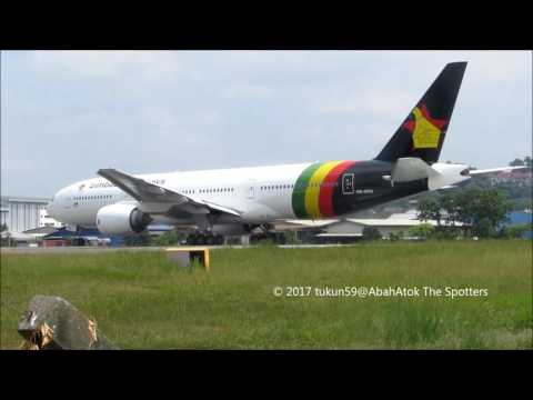 Zimbabwe Airways   Boeing 777-200   9M-MRQ