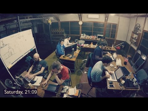 A Kyoto Game Jam - 50 Hour Time Lapse