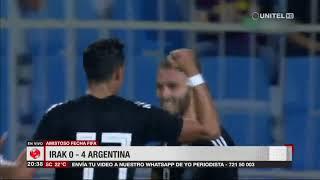 Fecha FIFA: Argentina goleó a Irak