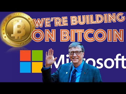 Microsoft Is BUILDING ON TOP OF BITCOIN. India AND Russia Moving To BAN CRYPTOCURRENCIES (Good News)