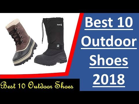 Best 10 outdoor shoes for mens 2018