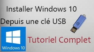 Installer Windows 10 Depuis Une Clé USB en Français | Tutoriel thumbnail