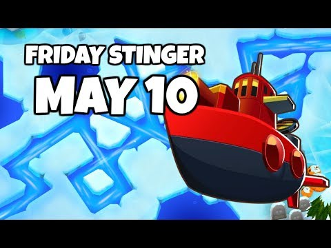 BTD6 Friday Stinger; Only 1 Tower Can Beat This - May 10 2019